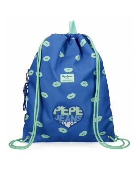 Pepe Jeans Mochila Saco  Ruth Azul - 1