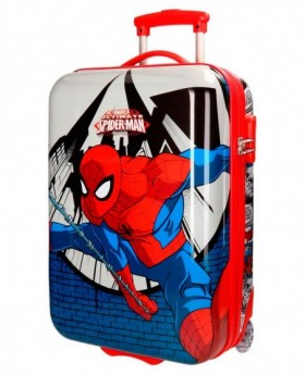 Marvel Spiderman Comic Maleta de mano Roja