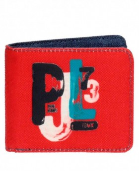Pepe Jeans James Billetero con monedero Rojo 0