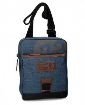 Bandolera Pepe Jeans Blue 73 Azul - 26cm | Maletia.com