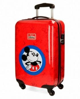 Disney Hello Mickey Maleta de mano Roja