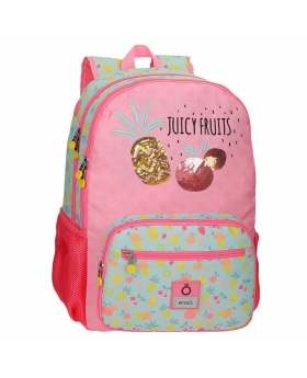 Enso Mochila  Juicy Fruits Doble Compartimento Adaptable Multicolor - 1