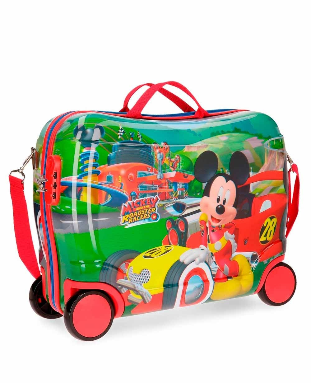 Mickey Roadster Correpasillos Rojo (Foto )