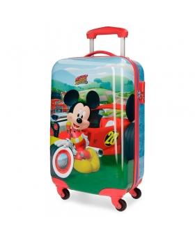 Maleta de mano Disney Mickey Roadster Roja - 55cm | Maletia.com