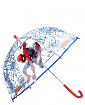 Paraguas Spider-Man Largo manual Rojo - 60cm | Maletia.com