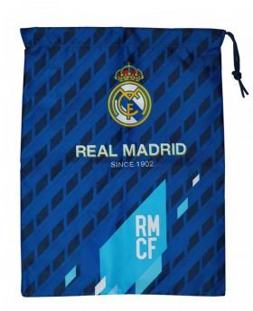 Gymsack Real Madrid Azul - 41cm | Maletia.com
