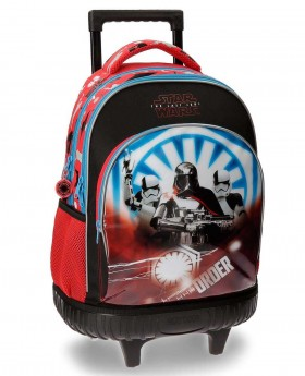 Mochila con ruedas  The Last Jedi 2R Star Wars Multicolor 43cm | Maletia.com