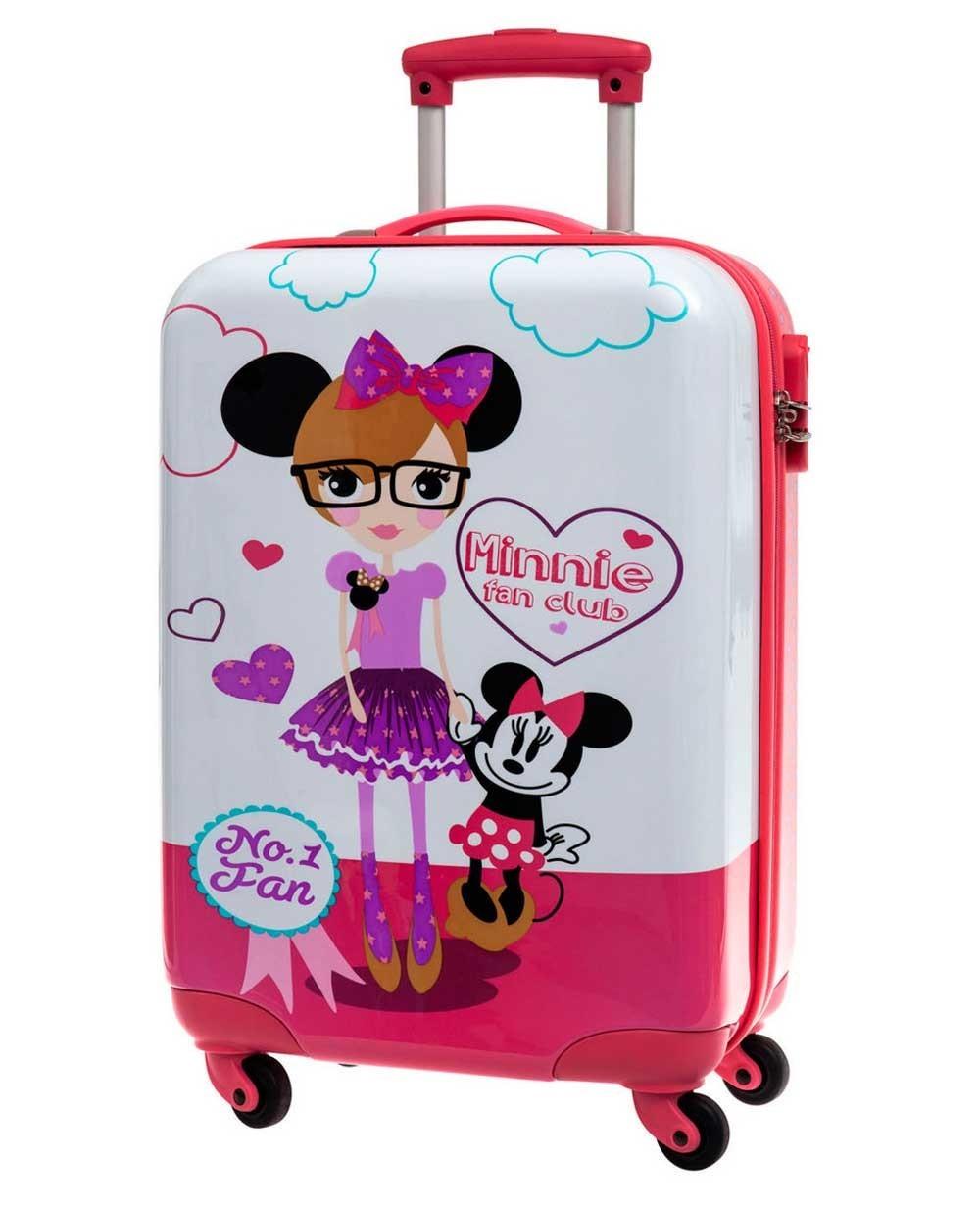 Disney Minnie Fan Club Maleta de mano Rosa