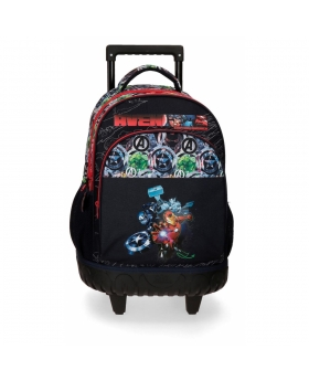 Marvel Mochila con Ruedas Avengers Armour Up 2R Azul - 1