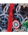 Marvel Estuche Avengers Armour Up Tres Compartimentos Azul (Foto 3)