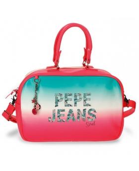 Pepe Jeans Nicole Bolsa de Viaje Rosa 0