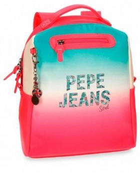 Pepe Jeans Nicole Mochila de día Rosa 0