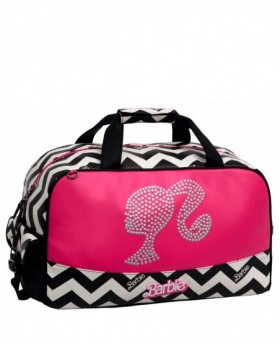 Bolsa de Viaje Barbie Dream Rosa - 45cm | Maletia.com