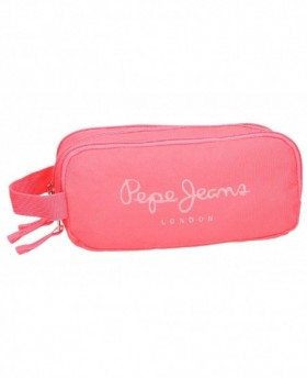 Pepe Jeans Plain Color Neceser Rosa