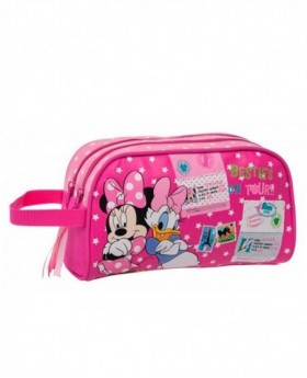 Disney Minnie & Daisy Neceser Rosa