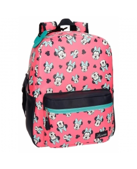 Disney Minnie Wink Mochila adaptable Rosa 0