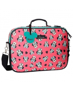 Carterón Disney Minnie Wink Rosa - 38cm | Maletia.com