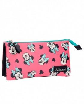 Disney Minnie Wink Estuche Rosa