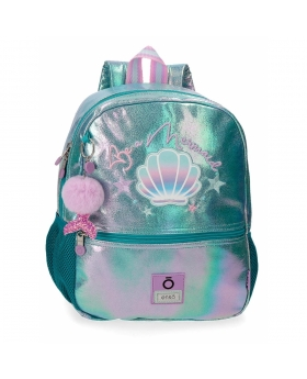 Enso Mochila de Paseo  Be a Mermaid Verde - 1