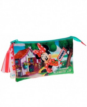 Disney Strawberry Minnie estuche Rosa
