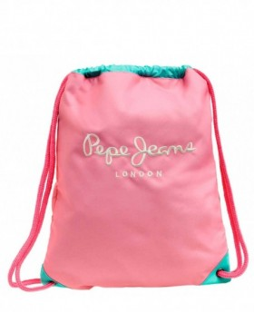 Pepe Jeans Bicolor Girl Gymsack Rosa
