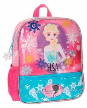 Disney Frozen Elsa mochila preescolar Rosa