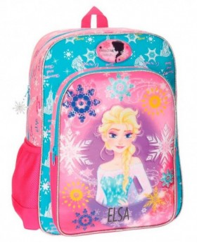 Disney Frozen Elsa mochila adaptable Rosa