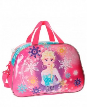 Disney Frozen Elsa Bolsa de Viaje Rosa 0