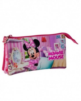 Disney Minnie Estuche Rosa