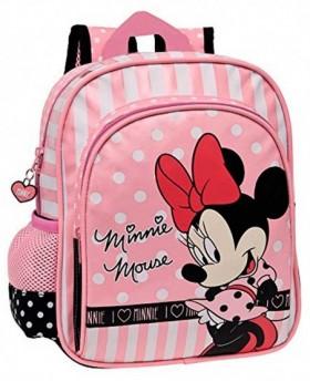 Disney Minnie & You mochila preescolar Rosa 0