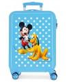 Mickey Maleta de cabina rígida Mickey & Pluto Stars Azul