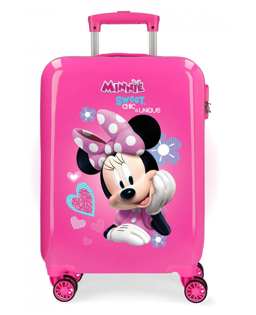 Minnie Fabulous Maleta de cabina rígida Rosa (Foto )