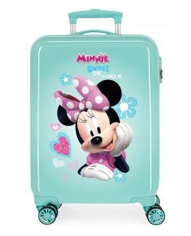 Minnie Fabulous Maleta de cabina rígida Turquesa