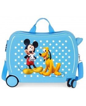 Mickey Correpasillos Mickey & Pluto Stars Azul