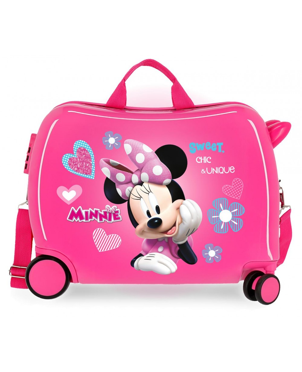 Minnie Fabulous Correpasillos Rosa (Foto )