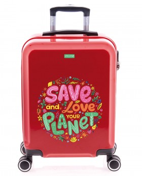 imome Cool Maleta De Mano Love Planet Planeta