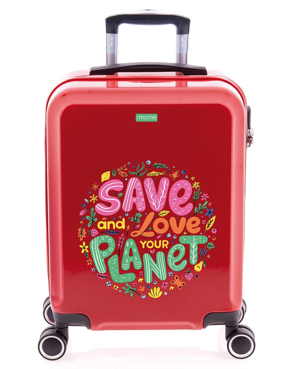 imome Cool Maleta De Mano Love Planet Planeta (Foto )