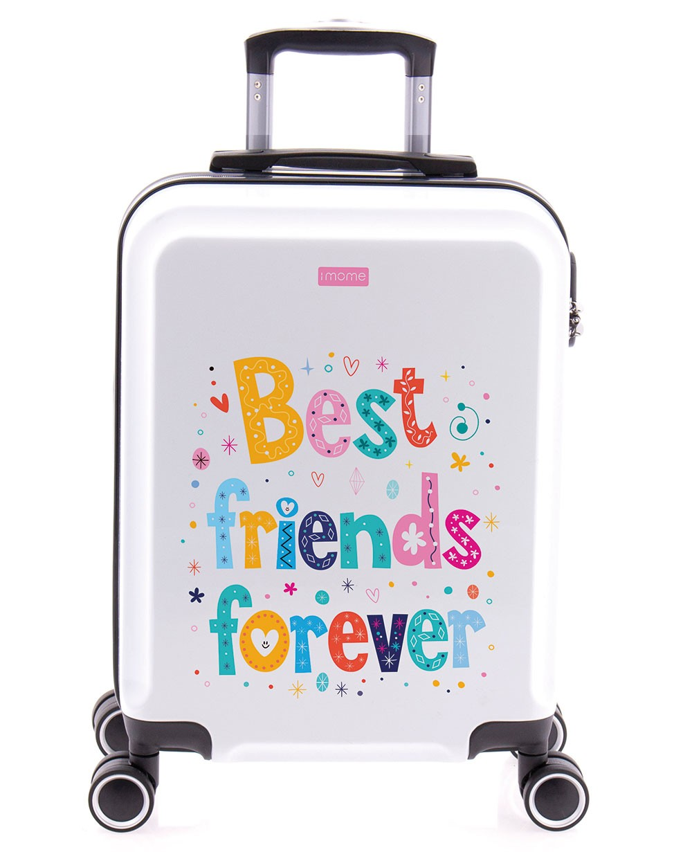 imome Cool Maleta De Mano Best Fiends Forever Amigas Blanca (Foto )