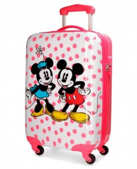 Maleta de mano Disney - Minnie Dots Rosa | Maletia