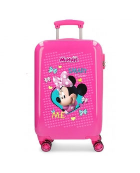 Maleta de mano Disney Minnie Happy Helpers Rígida - 55cm | Maletia.com