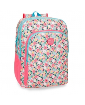 Roll Road Pretty Coral Mochila adaptable Rosa