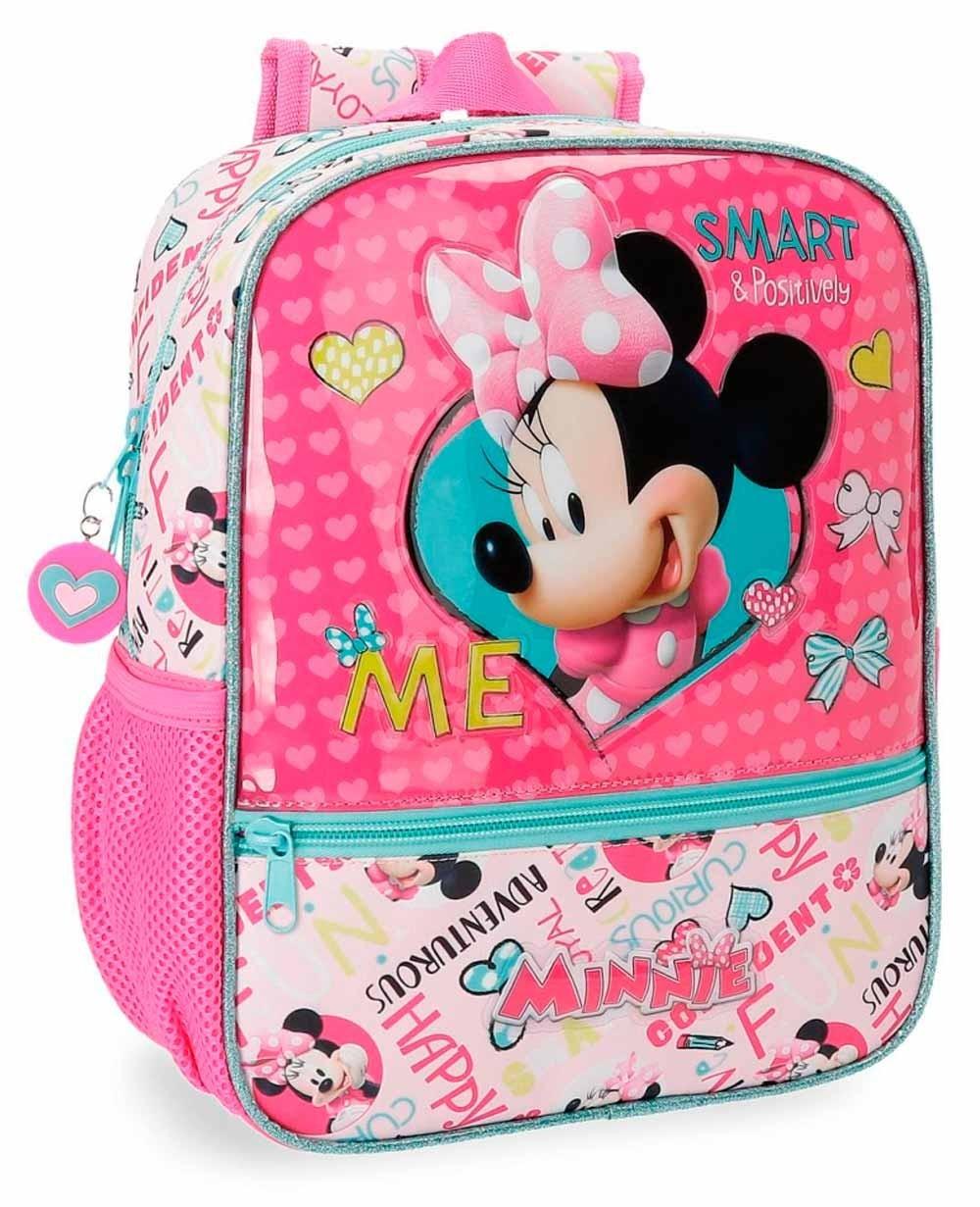 Disney Minnie Happy Helpers Mochila preescolar Rosa (Foto )