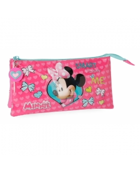 Disney Minnie Happy Helpers Estuche Rosa