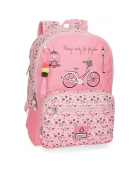 Enso Playtime Mochila adaptable Rosa 0
