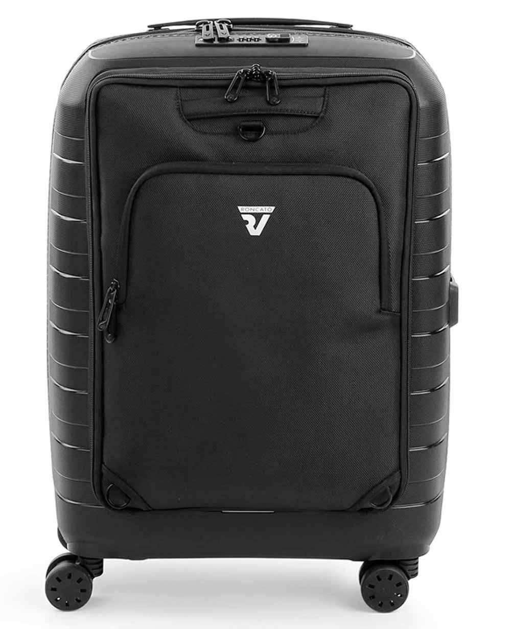 Roncato D-Box Maleta de Mano con mochila Negra (Foto )