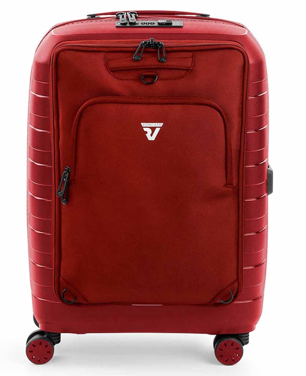 Roncato D-Box Maleta de Mano con mochila Roja (Foto )
