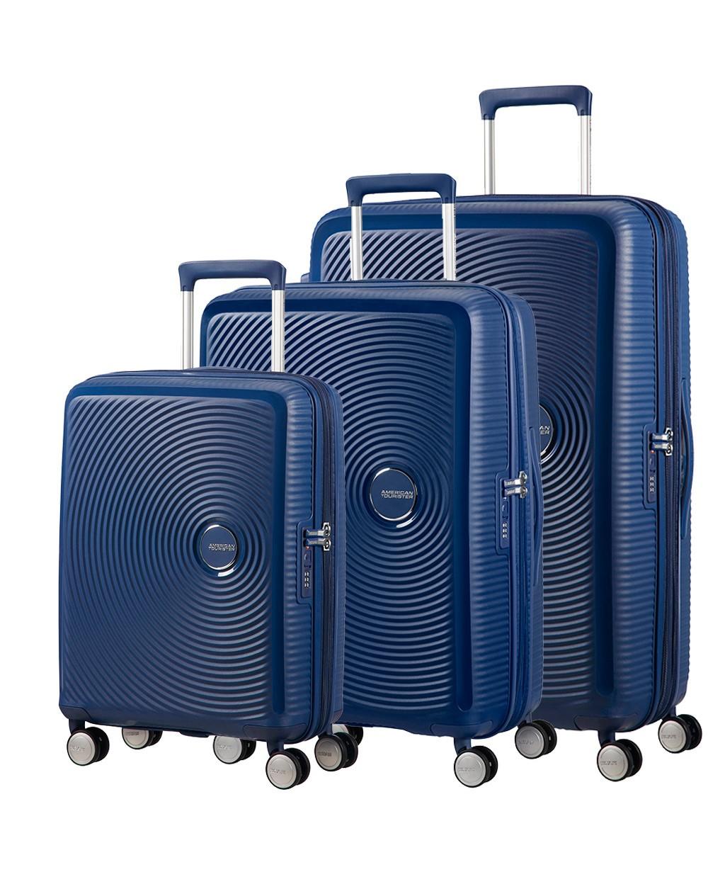 American Tourister Soundbox Juego Azul (Foto )