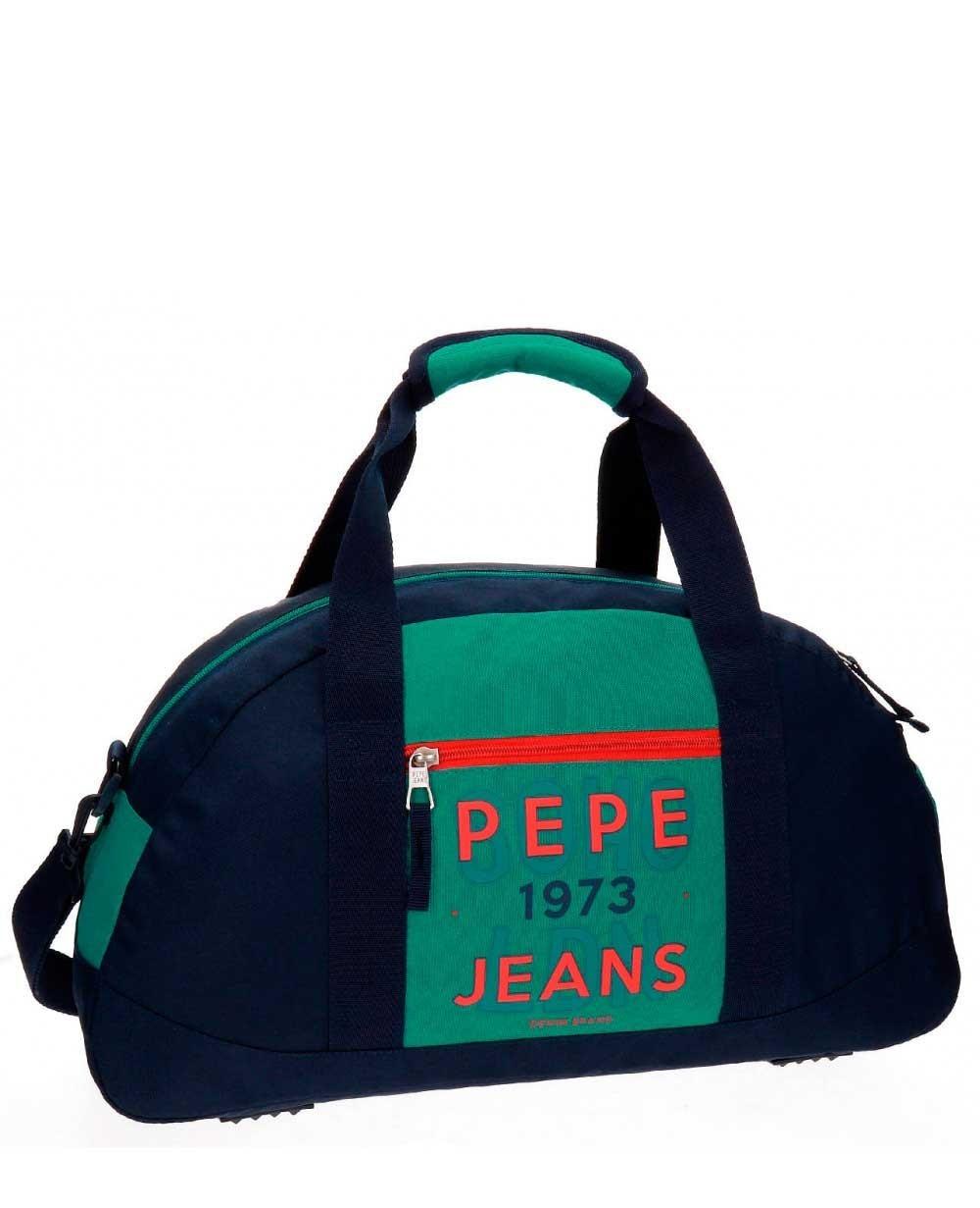 Pepe Jeans Reed Bolsa de Viaje Azul (Foto )