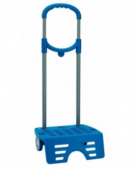 Carro Roll Road - Plataforma Universal Azul | Maletia