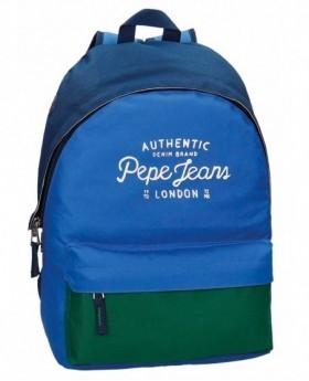 Pepe Jeans Kepel Mochila adaptable Azul